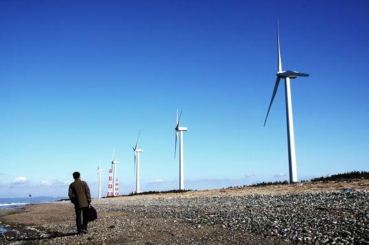 風車とオレ2