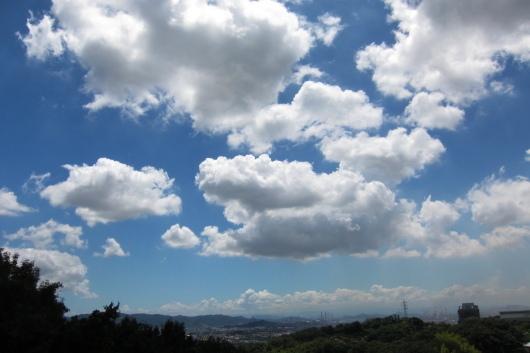昼間の空ももちろんきれい